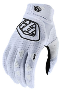 TROY LEE DESIGNS TLD MENS SOLID WHITE MTB CYCLING AIR GLOVES sizes S M L XL