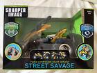 SHARPER IMAGE~STREET SAVAGE~Radio Controlled Stunt vehicle~Yellow/Black~ NIB