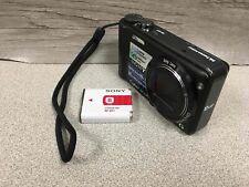 Sony Cyber-shot DSC-H55 14.1MP 10x Optical Zoom Digital Camera Black