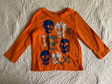 Circo Toddler Boys Long Sleeve T- Shirt with Skull Size 2T