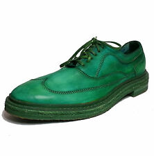 Cole Haan Men's Wingtip Oxford Shoes Size 8.5 Green Leather  C10468