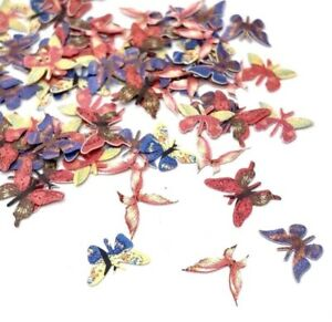 100 Pcs - Butterfly Nail Art Decorations - Nail Supplies, Resin Supplies
