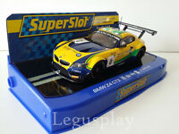 Slot SCX Scalextric Superslot H3721 BMW Z4 GT3 Sports Trophy Team Brasil Nº0