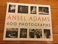 Ansel Adams: 400 Photographs by Ansel Adams. 1 St Edition. October 2007.