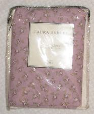 "LAURA ASHLEY Jessie Valance Lilac Floral 86""W X 15"" L Cotton New"