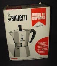 BIALETTI 6-cup ALUMINUM MOKA EXPRESS COFFEE POT Stove Top Espresso Maker ITALY