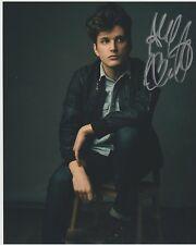 ALEX BONIELLO-ACTOR-DEAR EVAN HANSEN= BROADWAY signed  Photo 8x10-2018