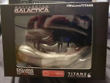 Loot Crate Exclusive 4.5 Cylon Raider Battlestar Galactica Titans Vinyl Fig