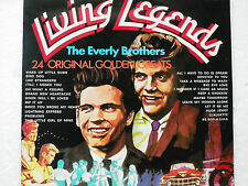 AS SEEN ON TV - Living Legends - THE EVERLY BROTHERS - Vinyl LP 24 Tracks VG++