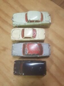 Corgi dinky joblot x 4,Austin Bentley Mini Police van and VW Razor edge.