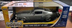RARE JADA 1967 FORD SHELBY GT-500 1/18  DIECAST CAR