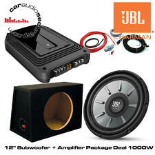 "JBL 12""  Stage 1210 + GXA Amplifier & Subwoofer Deal 1000W Package Amp/Sub Deal"