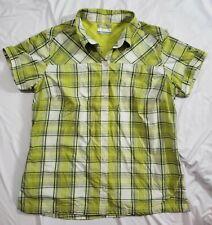COLUMBIA SPORTSWEAR Men's Silver Ridge Multi Plaid Short Sleeve Shirt XL