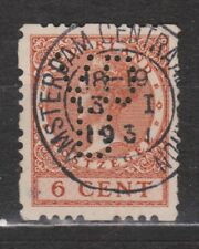 Roltanding 41 PERFIN VDB TOP CANCEL A'DAM CENTRAAL STATION Nederland syncopated