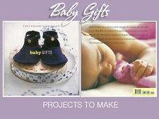 Baby Gifts Simple Heirlooms to Make and Give - Ethel Brennan 2002 Hardcover NEW