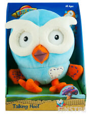Hoot Talking Plush Toy Large 18cm Giggle and Hoot Toy Interactive Plush Owl Toy