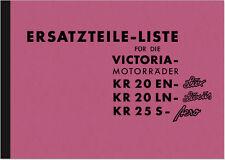 Victoria KR 20 25 Ersatzteilliste EN-Lux LN-Luxus S-Aero Ersatzteilkatalog KR20
