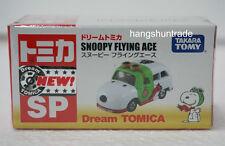 Takara Tomy Dream Tomica SP Snoopy Flying Ace Van Model
