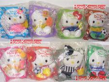 Hello Kitty Dear Daniel HK McDonald's World Cup 2002 Reversible Plush Doll Set 8