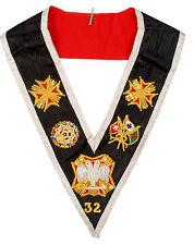 Masonic Regalia- Rose Croix Regalia-32nd Degree collar