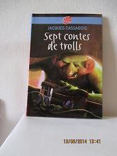 LIVRE  Sept Contes De Trolls