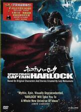 Space Pirate Captain Harlock DVD Japanese Aramaki Shinji NEW R3 Eng Sub