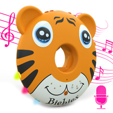 Baby Tunes Musical Toys Sing Along Portable White Noise Light up Soother Toys