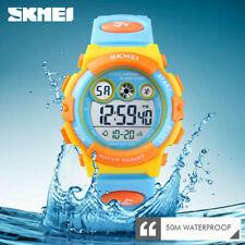 SKMEI Kids Sports Watch 50m Waterproof Children Alarm Digital Wristwatch 1451 1