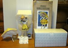 "Franklin Mint  ""Morton Salt""  Doll  Country Store 12 1/2"" W/ Box &Shipping Box"
