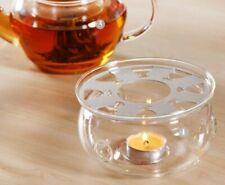 "DecentGadget With ""DG"" Logo Tea Glass Teapot Warmer"
