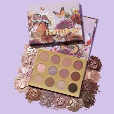 ColourPop FLUTTER BY Eyeshadow Palette Butterfly Collection NEW