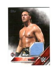 WWE Big Cass Raw 2016 Topps Then Now Forever Shirt Relic Card SN 38 of 299