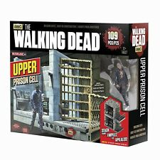 McFarlane Toys Construction Sets The Walking Dead TV Upper Prison Cell Set, New