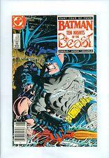 Batman #420 (Newstand) VF Starlin Zeck Aparo KGBeast Ten Nights of the Beast Pt4