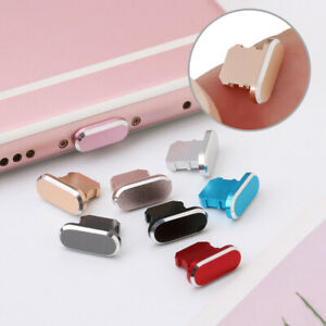 Cap Anti Dust Plug Metal Stopper For iPhone 11 Pro Max X XR Max 8 7 6S Plus