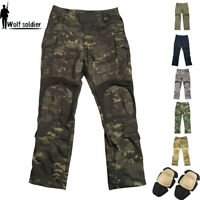 Mens Army Gen3 Combat Cargo Pants G3 Military Tactical SWAT Casual Trousers Camo