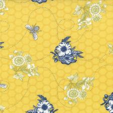 MODA Fabric ~ BEE MY HONEY ~ by Mary Jane Butters (11623 16) - by the 1/2 yard