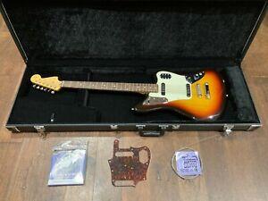 MIJ Fender Jaguar Baritone Custom Bass VI guitar with Warwick Rockcase