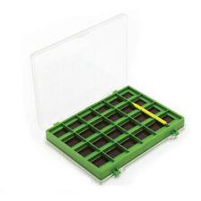 Leeda Magnetic Hook Box Green Coarse Match Fishing