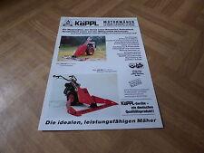 Werbeblatt Köppl Motormäher der Serie 500 MP