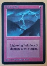 Vintage Magic | MTG Alpha Lightning Bolt | EX/MINT Condition, OLD SCHOOL!!!