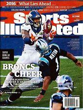 New Sports Illustrated 2016 Super Bowl Champs Denver Broncos Von Miller No Label