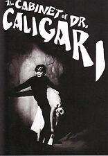 Gabinete del doctor Caligari Pegatina cine mudo horror de culto Goth Film Noir A6