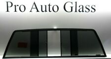 Rear Sliding Back Window Glass Privacy Tinted for a 88-00 C/K Chevy Gmc Pickup