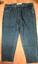 NWT Nevada Jeans, Dark Wash Denim Jeans, Relaxed Fit, Size 38x30 (S-M-1245)