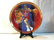 Bernard King Washington Bullets Sports Impressions Basketball Porcelain Plate