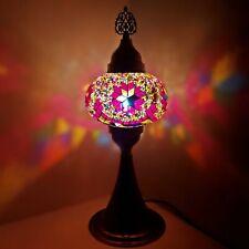 Turkish Table Lampe Marocain Coloré Verre Mosaïque Lampe Lumière Ce Testés