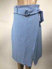 Jealous Tomato Skirt Large Blue Belt A-line NWT