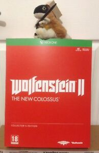 WOLFENSTEIN 2 THE NEW COLOSSUS COLLECTORS figure EDITION XBOX ONE / SERIES X