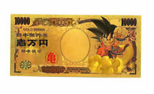"★★★ JAPON / JAPAN : BILLET POLYMER  "" OR "" DU 10000 YEN DRAGON BALL ★★★"